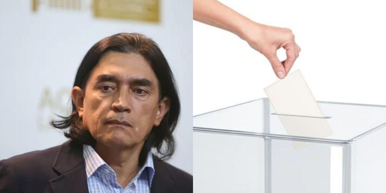 A Gustavo Bolívar el voto en blanco lo derrotó