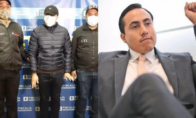Capturan a Richard Aguilar por presuntas irregularidades en contratos