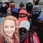 Atentan contra la alemana que respalda la protesta social en Cali