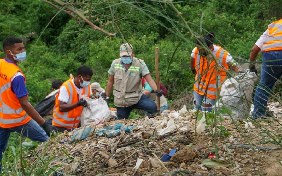 Avanza la recuperación de zonas degradadas en La Popa