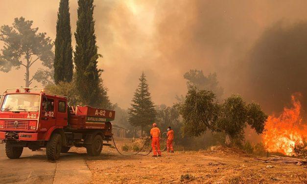 Decenas de incendios forestales en Turquía dejan 4 muertos y 58 hospitalizados