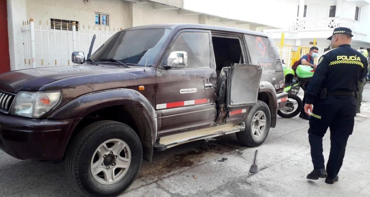Roban millonaria suma de dinero de un carro de valores en Cartagena