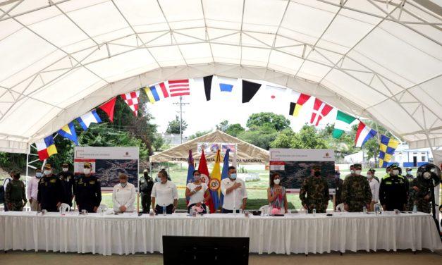 El Salado celebra sus 12,733 metros cuadrados libres de minas antipersonas