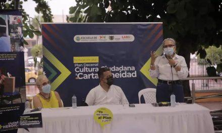Inicia la formulación del Plan Decenal de Cultura Ciudadana y Cartageneidad