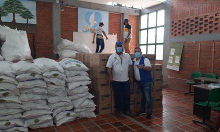 Llega más ayuda humanitaria a familias desplazadas del sur de Bolívar
