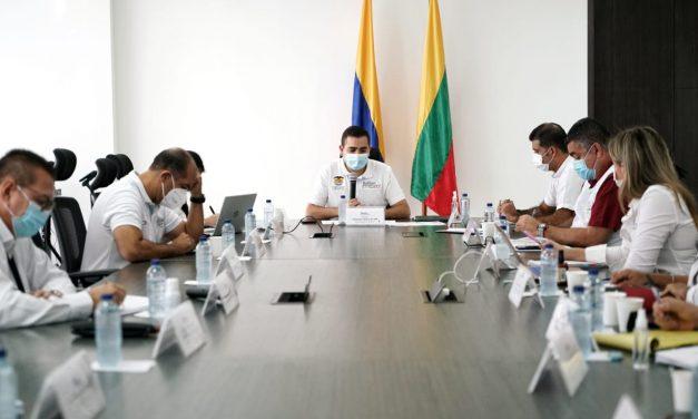 Gobernador de Bolívar sigue comprometido con el desarrollo en el Sur del departamento