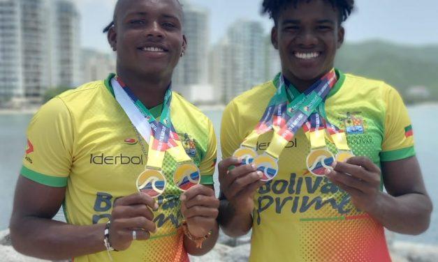 Bolívar destaca en el primer Campeonato Nacional de Paddle Race 2021