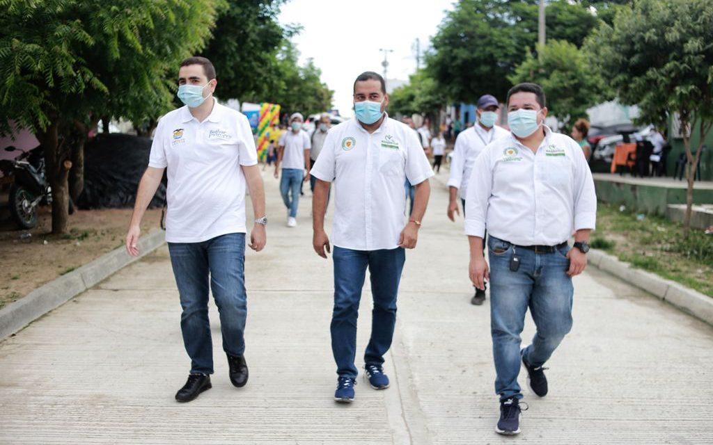 Gobernación de Bolívar invertirá $1.000 millones para la pavimentación de vías en Magangué