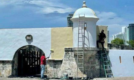 Club de Pesca de Cartagena: «el 29 de octubre a más tardar el fuerte se verá como antes»