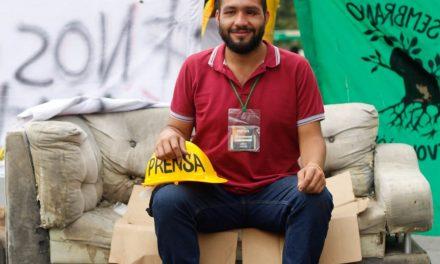 Esteban Mosquera, líder universitario asesinado en Popayán