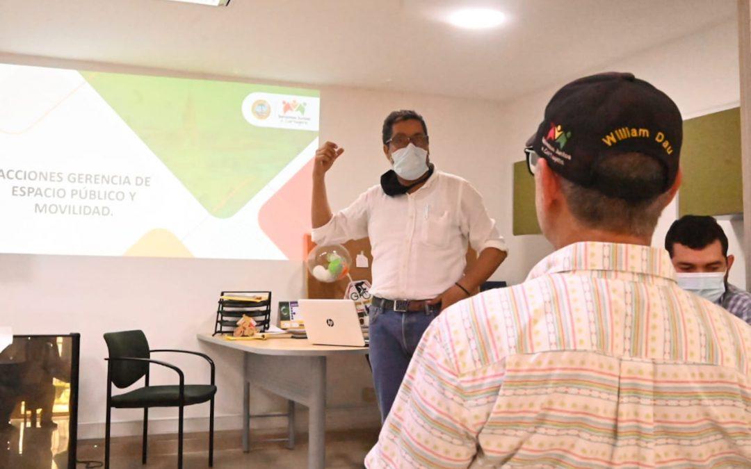 Nuevo plan de recuperación y movilidad del espacio público en Cartagena