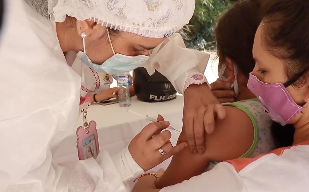 Jornada de vacunación contra la Rubéola y el Sarampión en Piedecuesta