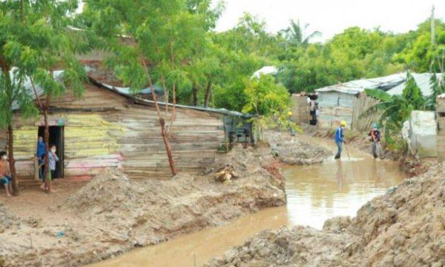 Fuertes lluvias dejan a 16 municipios de Atlántico en alerta roja