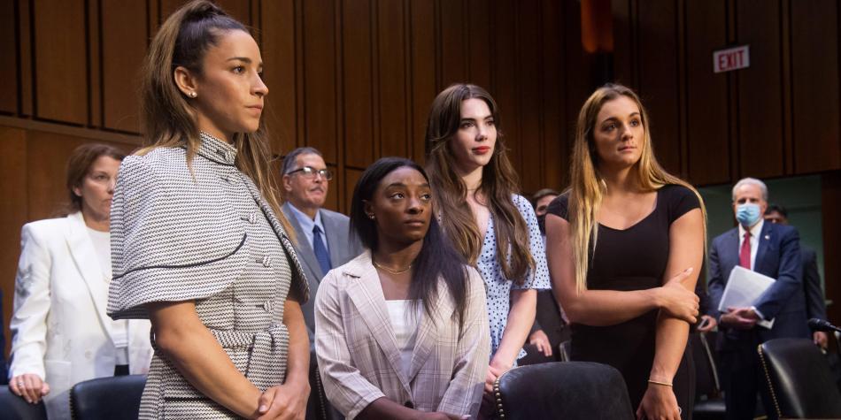 Gimnastas del equipo olímpico de EE.UU acusan al FBI de hacer caso omiso ante abusos sexuales