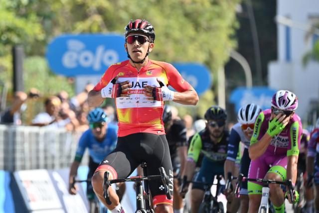 Molano gana otra etapa en Sicilia y continúa líder