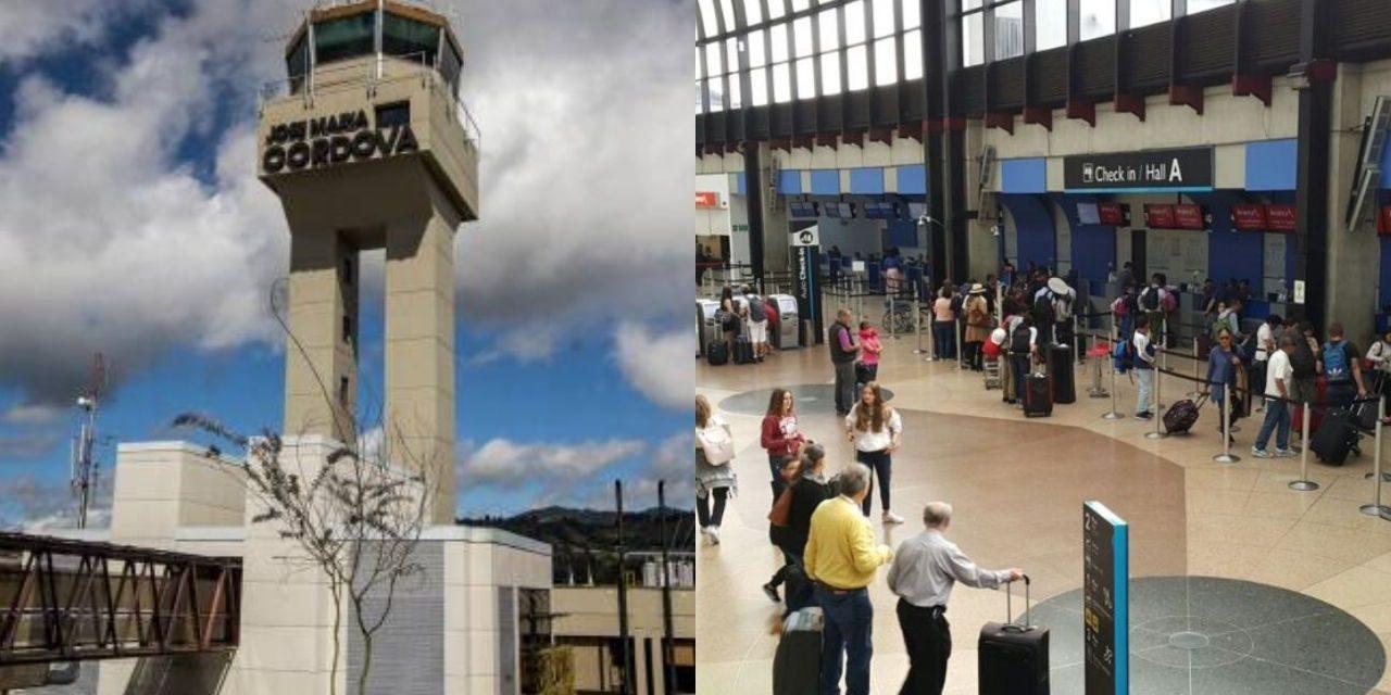 Accidente en el aeropuerto Rionegro deja nueve lesionados
