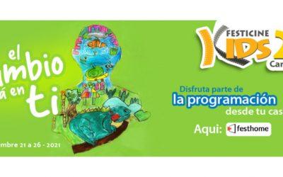 Niños y jóvenes podrán disfrutar de manera gratuita la nueva edición del FesticineKids
