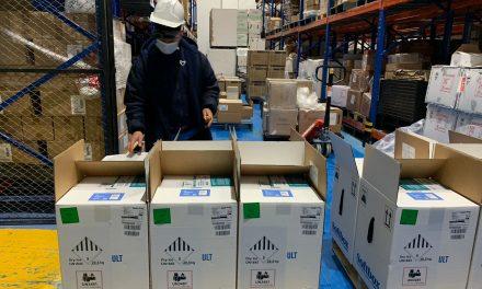 Llegan nuevo lote de vacunas Pfizer a Colombia