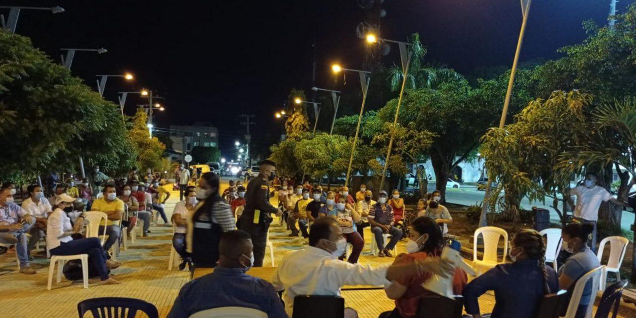Cardique capacita a comerciantes en Arjona acerca del manejo de residuos sólidos