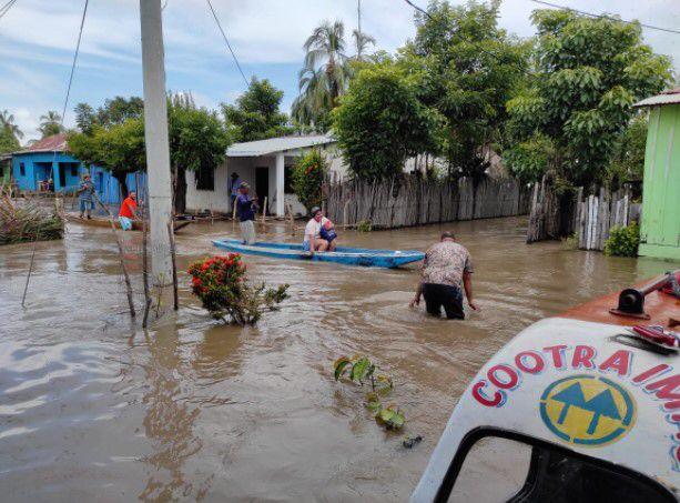 Ola invernal amenaza centros de salud de la ESE Río Grande de la Magdalena