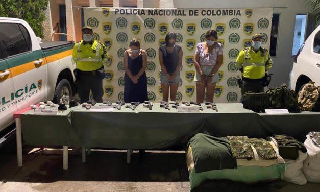 Excandidata a la alcaldía de Chibolo, fue capturada por camioneta cargada de armas