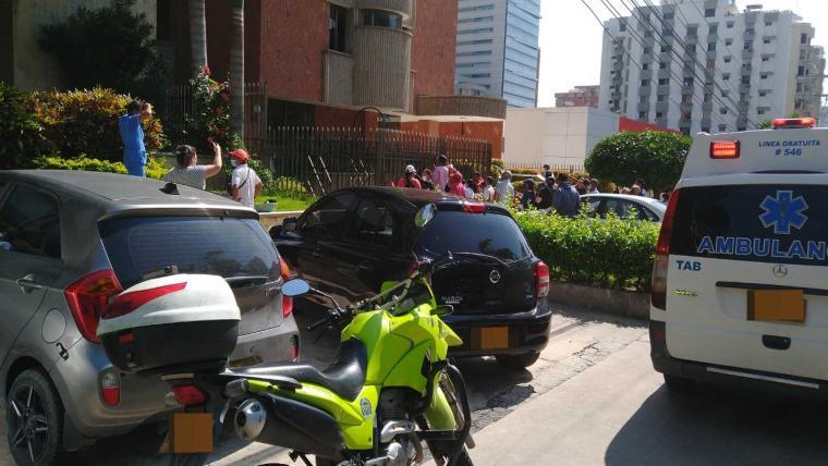 Adolescente muere luego de caer desde un séptimo piso en Barranquilla