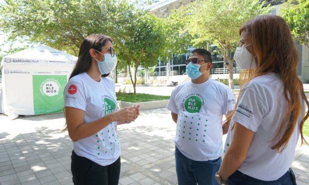 'Vacuna Emocional' en la ciudad de Barranquilla