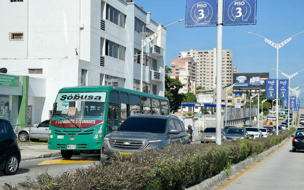 Conductores de buses en Barranquilla desesperados frente a la inseguridad