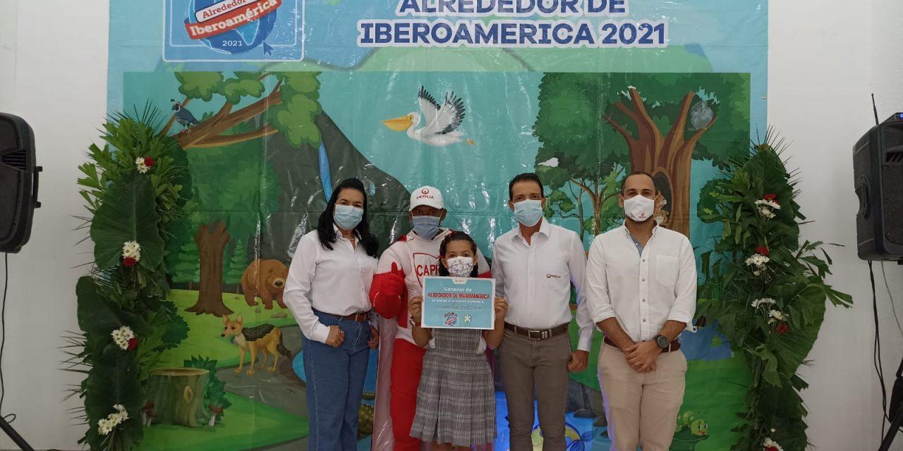 "Veolia premia a estudiante ganador del concurso ""Alrededor de Iberoamérica 2021"""